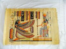 """Egyptian Papyrus Paper Painting High Quality Isis Hathor 26""""X34"""""""