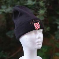 CROATIA Hrvatska Beanie HAT Cap - Brand New -32 Designs to choose from -blk grb