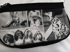 Nwt Vtg Life Black/White Dog Wristlet Wallet Dalmatian Shih Tzu Chis Pomeranian