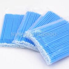 NEW 400PCs Dental Disposable Micro Brush Dental Materials Micro Applicators Blue