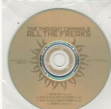 (BY712) The Thought Criminals, All The Freaks - DJ CD