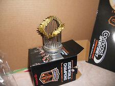 2010 SF GIANTS WORLD SERIES CHAMPIONS REPLICA TROPHY SGA 4/24/2011 NIB
