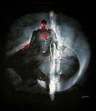 Marvel/DC: SUPERMAN MOS MONTAGE T-Shirt (M) - 40% OFF, SALE (batman)