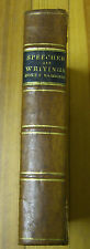 Speeches and writtings of HON. Thomas F. Marshall- W.L. Barre/ Applegate- 1858