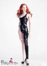 "Feeltoys FT006C Black One-piece Bodysuit 1/6 F 12"" Female Large Bust Figure Toys"