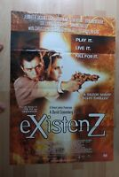 VINTAGEExistenz THOMAS CROWN AFFAIR POSTER DOUBLE SIDED MOVIE FILM UK POSTER