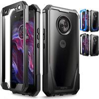 Shockproof Hybrid TPU Clear Back Hard Case Cover Case For Motorola Moto X4