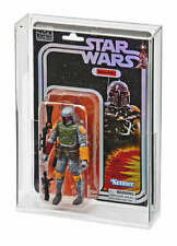 "1 x Star Wars 40th /SDCC Boba Fett Exclusive Black Series 6"" Carded Acrylic CASE"