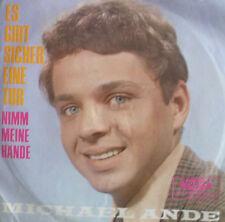 """7"""" 1968 VOGUE RARE VG+++ ! MICHAEL ANDE : Es gibt sicher eine Tür (= DER ALTE )"""