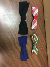 Vintage Lot Of 4 Best Clip Ormond New York  bow ties B18