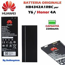 BATTERIA ORIGINALE HUAWEI per ASCEND Y5 2 II CUN-L01 L21 U29 2200MAH HB4342A1RBC