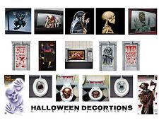 Fiesta De Halloween Decoraciones Puerta Ventana Wc glotones Techo