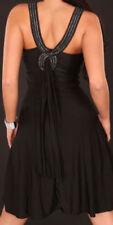 Vestiti da donna neri Koucla con scollo a v
