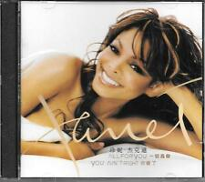 "JANET JACKSON - RARO 2 CD STAMPA MALAYSIA ""ALL FOR YOU """