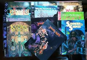 FADING SUNS FIRST EDITION COLLECTION - HOLISTIC DESIGN RPG ROLEPLAYING 13 BOOKS