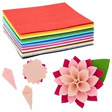 Felt Sheetsfor Crafts,Sewing Projects(25 Colors, 8 x 8 in, 50 Pack)
