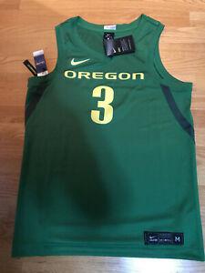 NWT Nike Dri-Fit Oregon Ducks #3 Stitched Basketball Jersey (Men's S, M, L, XXL)