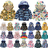 Boys Toddler Ski Snow Winter Warm Jackets Kids Coats Children Wind Waterproof