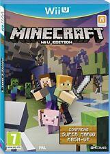 Jeu Video Nintendo Wii U complet TBE VF Minecraft