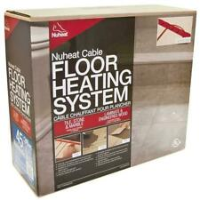 Nuheat Cable System Electric Floor Heating - 120V and  240V ALL SIZES AVAILABLE