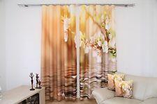 Mehr-als-250-cm gardinen für Blumenmuster und Wohnzimmer | eBay
