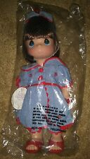 precious moments doll lucky to have s friend like you Brunette brand new w/box.
