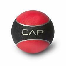 Cap Fitness Medicine Ball 10 lbs Sturdy Rubber Construction Rubber Durable Sport