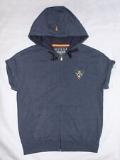 GUESS Short Sleeve Full Zip Hooded Jacket Size Small