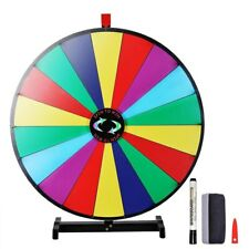 """Winspin Upgraded Editable 30"""" Color Prize Wheel of Fortune Show Tabletop Game"""