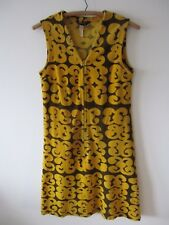 Marimekko Finland Suomi True Vintage 60s Museum Collector Velvet Dress Tarha WOW
