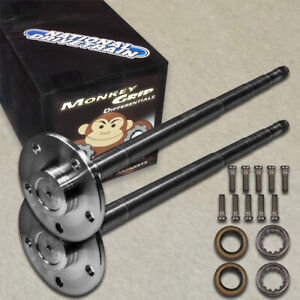 "M-GRIP ALLOY AXLE SHAFT KIT 1541H - MUSTANG - 28 SPLINE FITS FORD 8.8"" - 5 LUG"