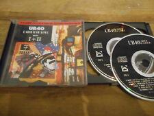 CD Pop UB 40 - Labour Of Love Parts I+II 2CD (24 Song) VIRGIN REC / DEP INTER jc