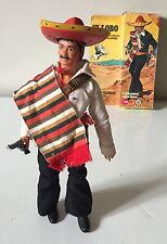 "Vintage Gabriel Marx 7445 Lone Ranger ""El Lobo"" Figure + accessoires ~ boxed"