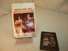 Math Gran Prix - 4918 (Atari 2600) With manual