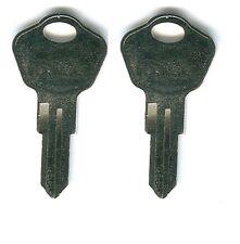 (2) Sentry Safe Box Keys PRE-CUT To Code 3G2 Model 1100 & More