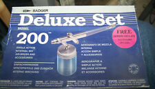 Badger 200 Airbrush and Central Pneumatic Airbrush (both New)