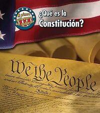 ¿Qué es la Constitucion? (Mi primera guía acerca del gobierno) (Spanis-ExLibrary