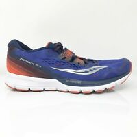 Saucony Mens Zealot ISO 3 S20369-2 Blue Orange Running Shoes Lace Up Size 10.5