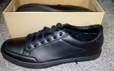 NEW UK 12 STONE CREEK OUTLAW SHOES TRAINER LACE SCHOOL OFFICE WORK UK BLACK