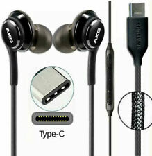 AKG USB-C TYPE C EARPHONE HEADPHONE for SAMSUNG GALAXY S20 NOTE10 Note20 Fold UK