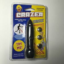 Wacky Crazer Laser Cat Dog Toy - Not Your Typical Laser! Includes 6 batteries