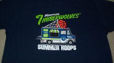 Men's Xl Limited Ed Minnesota Timberwolves Summer Hoops Camp Shirt Ice Cream