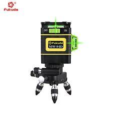 Fukuda Green laser 12 Lines 3D MW-94D Laser Level Self-Leveling 360