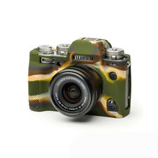 Camera silicone cover for FUJI X-T3 Camouflage + screen protector