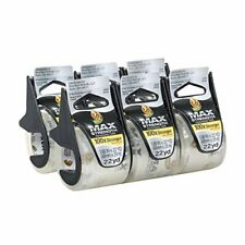 Duck Max Strength Packing Tape With Dispenser Clear 6 Pk 188 X 22 Yd