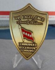 "U.S. CENTCOM COMMANDER GENERAL DAVID PETRAEUS 2.25"" RARE LARGE VERSION COIN"