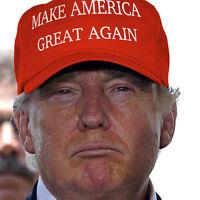 2016 Make America Great Again Hat Donald Trump Republican Adjustable Mesh Cap