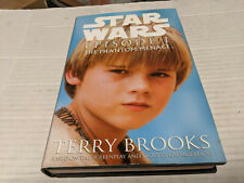 Star Wars Episode 1 by Terry Brooks (1999) 1st/1st SIGNED Anakin Cover