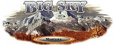 1 RV TRAILER CAMPER MONTANA BIG SKY GRAPHIC DECAL -37