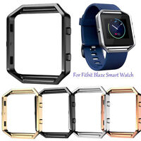 New Stainless Steel Well Polished Watch Frame Replacement For Fitbit Blaze Watch